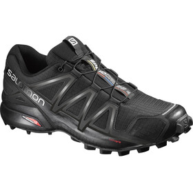 Salomon Speedcross 4 Shoes Herre black/black/black metallic